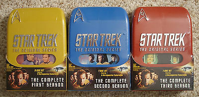 NEW Star Trek The Complete Original Series (25-DVD) Season 1-3 2 +Best Buy