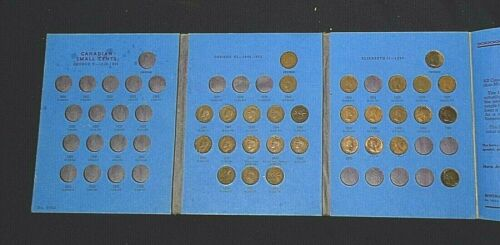 29 CANADA CENTS WITH COIN ALBUM