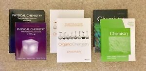 Selling chemistry, anthropology, physics, and calculus textbooks