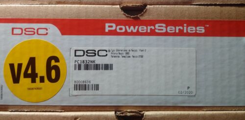 DSC 1832 Panel PC1832NK Power Series Security System Control V-4.62 New * Sealed