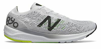 New Balance 890v7 Mens Shoes White with Black & B Ack