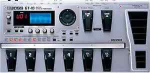 BOSS GT10 GUITAR  EFFECTS Padstow Bankstown Area Preview