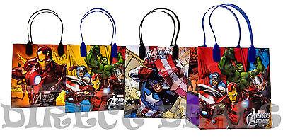 Avengers Birthday Party Favors (18 pc Marvel Avengers Assemble Party Favors Gift Toy Bags Birthday Candy Treat)