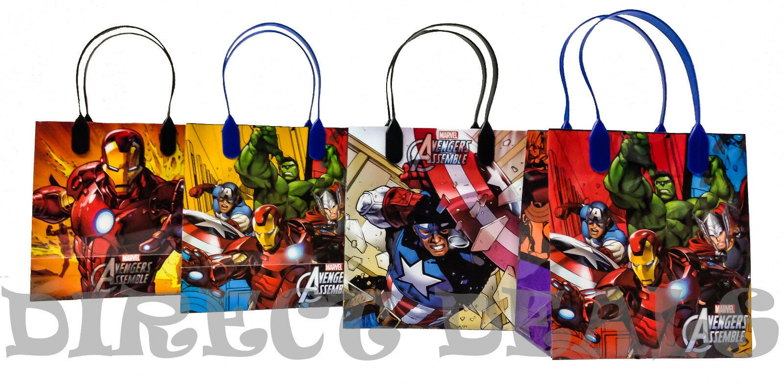 24 pc Marvel Avengers Assemble Party Favors Gift Toy Bags Bi