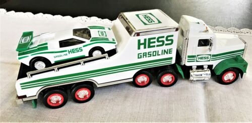 Hess Gasoline Truck with Racer 1991 NIB