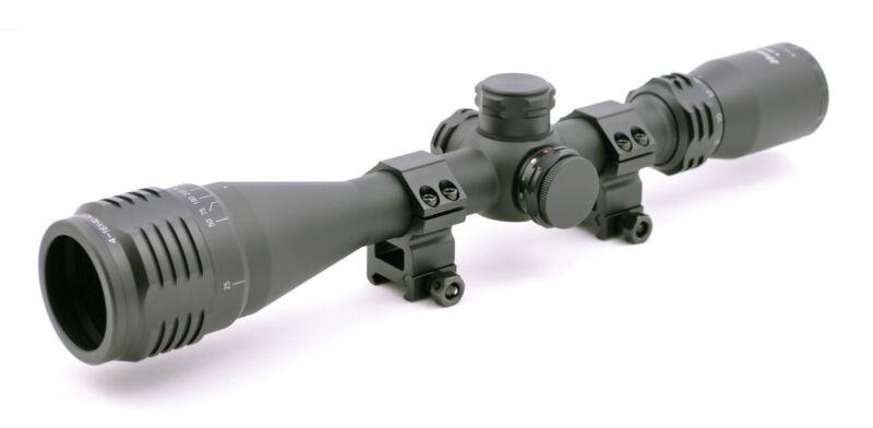 Hammers Illuminated Varmint Hunting Riflescope 4-16X40AO w/ Weaver Scope