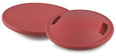 BalanceBoard Rot | Therapiekreisel | Ø 40cm |Gleichgewichtstrainer | Wackelbrett