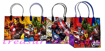 30 Marvel Avengers Party Favors Gift Toy Bags Thor Hulk Iron Man Birthday Treat - Hulk Party Favors