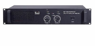 NJS NEW JERSEY SOUND STEREO SLAVE AMPLIFIER 2 X 500W NJS006