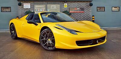 2012 Ferrari 458 4.5 V8 Spider / Convertible - Huge Spec Rare Example