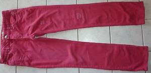 Girl's hot pink Mango trendy torn jeans size 12 - pick up Oxley Vale Tamworth City Preview