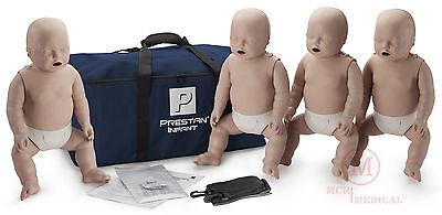 4-pack Prestan Infant Cpr Manikins Med Tone Pp-im-400-ms Cpr Training Mannequin