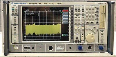 Rohde Schwarz Fsiq 26 Signal Analyzer 20hz-26.5ghz