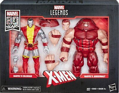 Legends Series 80th Anniversary Colossus & Juggernaut (2-Pack)