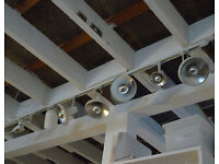 Concord Lighting Track & Eight Spotlights. OFFERS