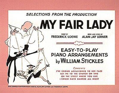 Fair Lady Sheet Music - My Fair Lady Sheet Music Easy Piano NEW 000301700