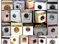 WANTED : VINTAGE 70S, 80S & 90S WASHING MACHINES AND DRYERS - BENDIX, HOOVER, HOTPOINT, SERVIS.....