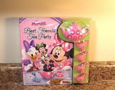 Disney Minnie Mouse Play A Sound Book Set Best Friends Tea Party (Best Minnie Mouse Party)