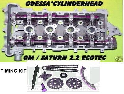 Gm Chevy Cavalier Cobalt Saturn 2 2 Dohc Ecotec Cylinder Head Timing Kit Rebuilt