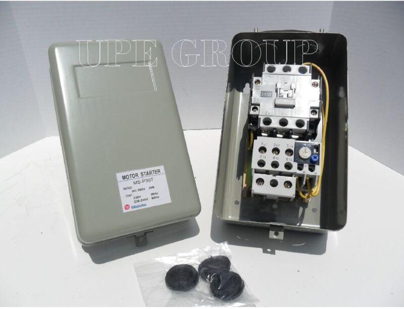 New Magnetic Motor Starter Control 5hp single phase 230VAC Compressor Motor