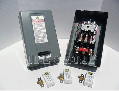 New Square D Magnetic Motor Starter Control 10hp 3ph 230v 40a 8911dpsg43v09