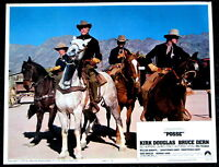 MOVIE POSTER: Posse starring Kirk Douglas 1975