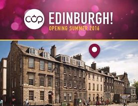 Part and full time Waiting staff and Baristas required for CUP Edinburgh - Award winning tea lounge
