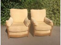 Pair of Ercol Renaissance Armchairs in Excellent Condition