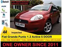 2007 Fiat Grande Punto 1.2 Active 5dr FULL MOT, FULL S/H, HPI CLEAR, CORSA VW POLO FORD FIESTA