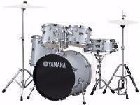 Yamaha Gigmaker Drum Kit Silver Sparkle