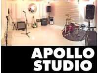V.COOL REHEARSAL STUDIO - EXCLUSIVE USE - NOV/DEC/JAN. LONDON N4. PARKING/ AIR CON. Music/Room/Space