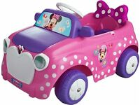 Minnie Mouse 6V Engine Ride On - Pink