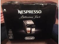 Brand New Nespresso Lattissima EN550.B Coffee Machine