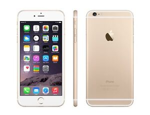 Telus iPhone 6  Gold