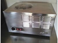 Musso Stella ice cream machine / maker. Full 304 grade stainless steel. Handmade in Italy.