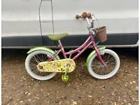 "Girls elswick traditional style bike 16"" wheels £55"