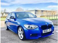 ★🌟LOW RATE FINANCE🌟★2012 BMW 1SERIES 118D M-SPORT★FULL SERVICE HISTORY★49K MILES★CAT-D★KWIKI AUTOS