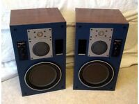 Technics SB-M5 Vintage 3 Way Speakers,Made in Japan
