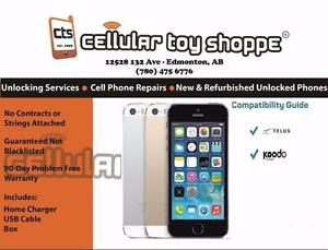 iPhone 5s 16GB Telus/Koodo Only - LIKE NEW