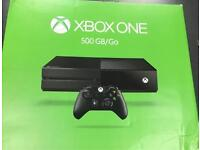 Xbox One Console 500GB, Black, Boxed *MINT CONDITION* (all accessories included)