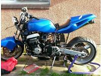 REDUCED Ongoing project GPz900 street fighter