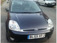 FORD FIESTA 1.6 GHIA, Good Condition, Low Mileage, MOT till Jan 2019