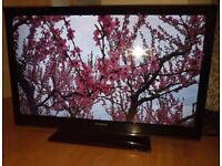 Polaroid 42 inch Full HD 3D LED TV with Freeview and 3D Glasses