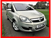 Auto -- 2007 Vauxhall Zafira 1.9 CDTi Elite 5dr --- Diesel --- Part Exchange Welcome --- Drives Good