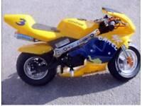 Mini moto looking to swap