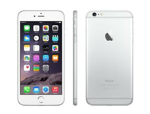 Iphone 6plus, silver with Rogers