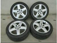 "Audi genuine 17"" alloys"