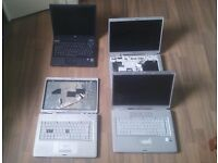 1 x HP Laptop , 3 x Compaq Laptops SPARES REPAIR. ALL 3 Compaq boot to BIOS