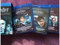Blu rays Harry Potter all films 1-7