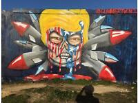 Glimmertwin graffiti artist